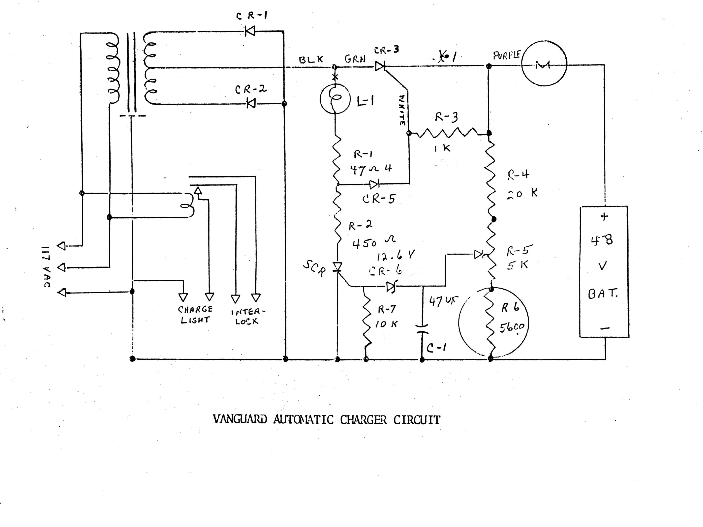 Lester 36 Volt Battery Charger Wiring Diagram Block And Schematic Yamaha Golf Cart Evdl Library Rh Org